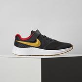 Nike Star Runner 2 Psv 中童 黑金 輕量 透氣 魔鬼氈 運動 童鞋 AT1801-010