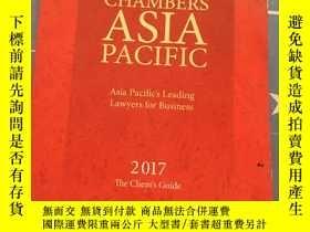 二手書博民逛書店CHAMBERS罕見ASIA PACIFIC 2017 Asia pacifics leading Lawyers