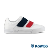 【K-SWISS】Court Lite Velcro休閒運動鞋-女-白/藍/紅(96316-113)