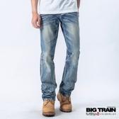 Big Train BT街頭小直筒褲-男-淺藍-BM703474(領劵再折)