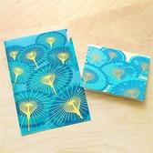 《台灣風味/傳統紙傘》三層資料夾與卡片組 【MIIN GIFT】