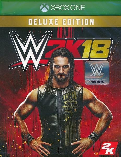 【玩樂小熊】現貨中 XBOXONE 遊戲 豪華版 WWE 2K18 美國勁爆職業摔角 英文亞版