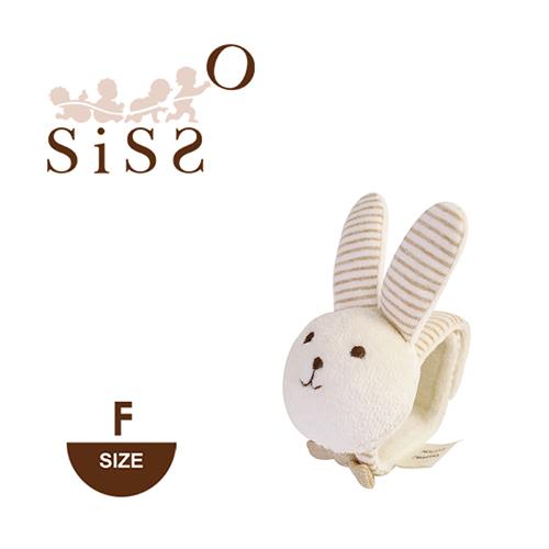 【SISSO有機棉】米米兔腕帶鈴鐺  (一入)