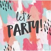 彩繪風紙巾24入-Lets Party
