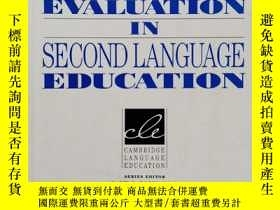 二手書博民逛書店CLASSROOM-BASED罕見EVALUATION IN SECOND LANGUAGE EDUCATION奇