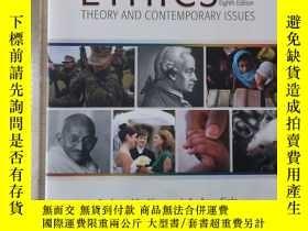 二手書博民逛書店Ethics罕見theory and contemporary