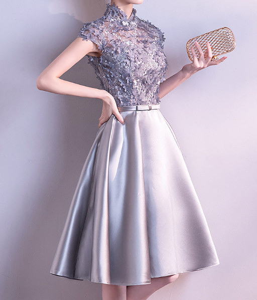 (45 Design) 洋裝禮服婚禮洋裝伴娘禮服洋裝小禮服中長禮服小洋裝蕾絲洋裝媽媽禮服11