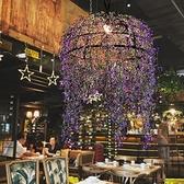 吊燈 植物音樂餐吧植物酒吧清吧裝飾咖啡廳火鍋店燒烤吧燈 現貨快出YJT