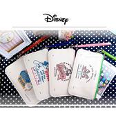 迪士尼橫式麻布風手機袋文青風(1入) 5款可選【小三美日】