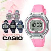 CASIO手錶專賣店 國隆 CASIO_LW-203-4A 橡膠錶帶 橡膠玻璃 50米防水 全新品