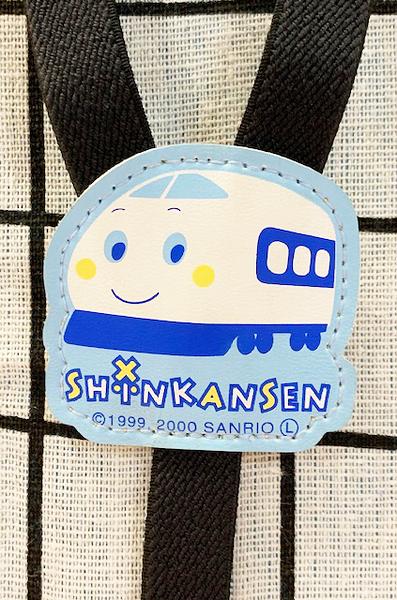 【震撼精品百貨】Shin Kan Sen 新幹線~三麗鷗新幹線童用吊帶扣-黑(可調整)#02700
