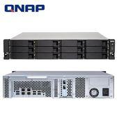 QNAP 威聯通 TS-1273U-RP-64G 12Bay NAS 網路儲存伺服器
