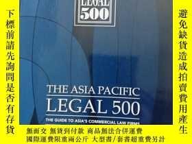 二手書博民逛書店the罕見Asia pacific legal 500 2005