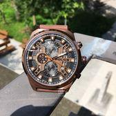 POLICE義大利國際品牌戰慄空間三眼潮流腕錶15383JSBN-02原廠公司貨