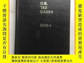 二手書博民逛書店英文書罕見u.s.tax cases 2002.1 u、 美國稅務案例2002.1Y16354 詳情見圖片 詳