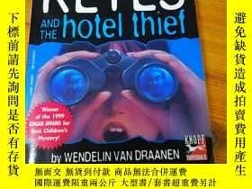 二手書博民逛書店SAMMY罕見KEYES and the hotel thief【文德琳.範.德拉安南,英文原版】Y15590
