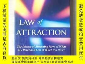 二手書博民逛書店Law罕見of attraction laws of attraction 吸引力法則 英文原版 精裝Y324
