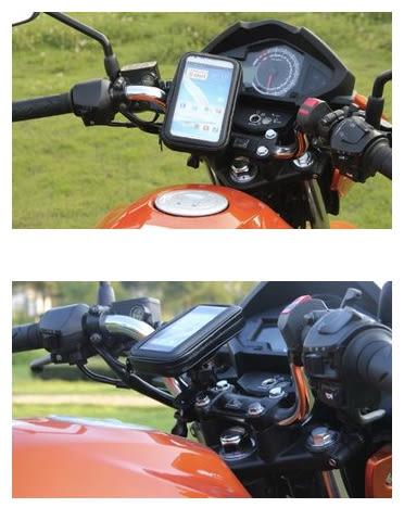 Suzuki GSR nex address gogoro sym g6快拆支架保護套皮套手機架摩托車導航檔車重機車架手機座固定架