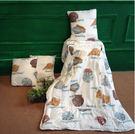 純棉汽車抱枕被子兩用大號沙發靠墊被子全棉辦公室空調被折疊毯子