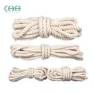 麻繩粗捆綁繩線diy手提袋棉繩手工編織裝飾棉線材料白色紙繩子春季新品