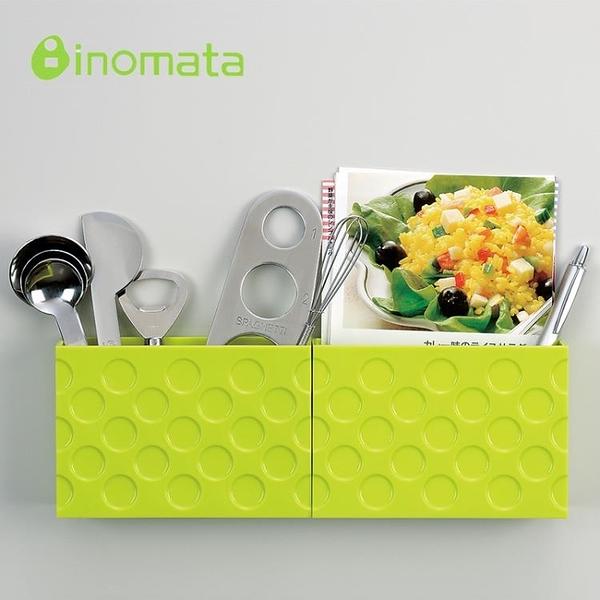 尺寸超過45公分請下宅配日本進口廚房小物件收納盒 冰箱磁鐵吸附盒