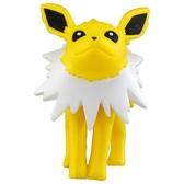 〔小禮堂〕神奇寶貝Pokémon 雷伊布 迷你塑膠公仔玩具《黃》寶可夢公仔.模型 4904810-59933
