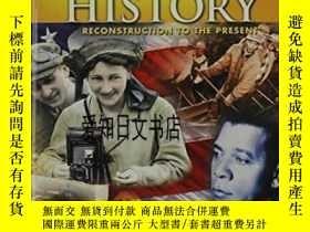 二手書博民逛書店【罕見】United States History: Reconstruction To The Present奇
