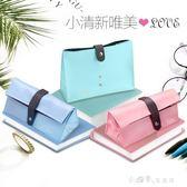 文具盒女韓國創意可愛簡約韓版大容量小清新筆袋國中高中學生PU皮 小確幸生活館