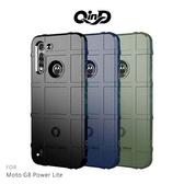 QinD Moto G8 Power Lite 戰術護盾保護套 氣囊 減震抗摔 全包邊 保護殼 保護套