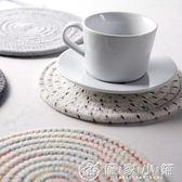 日式棉線編織隔熱墊餐墊防燙墊餐桌墊 優家小鋪