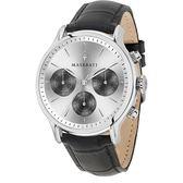 【Maserati 瑪莎拉蒂】/三眼皮帶錶(男錶 女錶)/R8851118009/台灣總代理原廠公司貨兩年保固