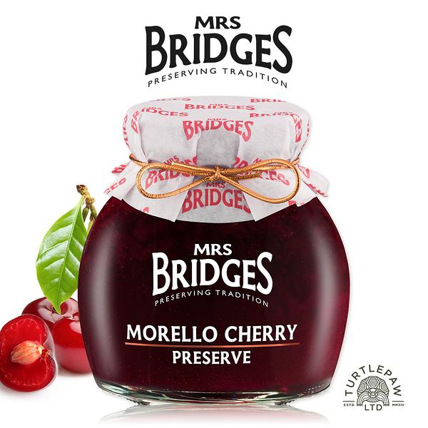 【MRS. BRIDGES】英橋夫人紅櫻桃果醬(大)340g 交換禮物首選