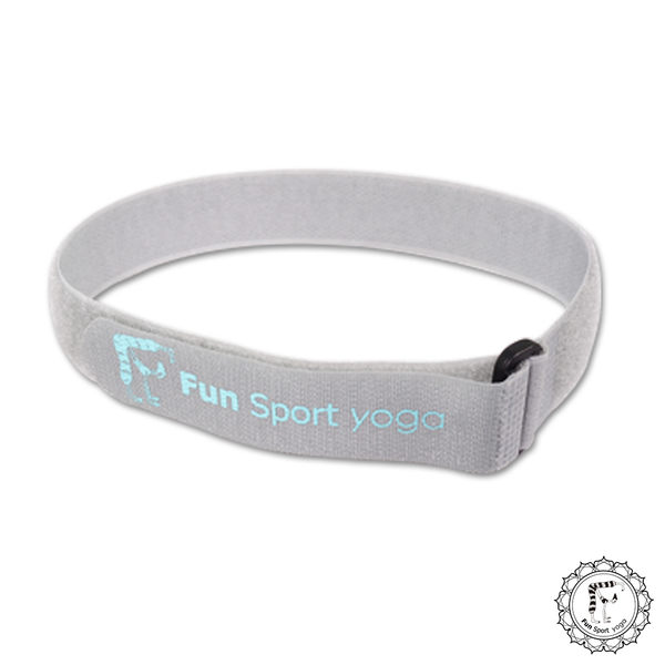 《Fun Sport》立樂束瑜珈墊收納帶(3條)-魔鬼氈扣環式束帶(厚度8mm以下瑜珈墊適用)