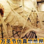 萬聖節道具 萬聖節裝飾用品大蜘蛛鬼屋酒吧場景布置掛件仿真蜘蛛絲蜘蛛網道具 芭蕾朵朵