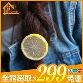 ✤宜家✤可愛水果造型髮圈 檸檬 蘋果 西瓜 髮繩 髮飾 綁髮帶
