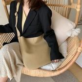 包包女包2019新款韓版百搭單肩大容量托特包法國小眾秋冬手提大包側背包