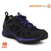 【Merrell】女款 多功能性健行鞋SIREN SPORT Q2 GORE-TEX-黑紫色(37794)全方位跑步概念館