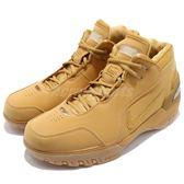 Nike Air Zoom Generation AZG QS 土黃 金 麂皮 一代 籃球鞋 限量復刻 LBJ 男鞋 姆斯【PUMP306】 AQ0110-700