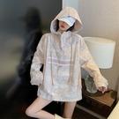 百搭休閒外套女春秋季2021年新款韓版寬鬆ins潮設計感小眾沖鋒衣「時尚彩紅屋」