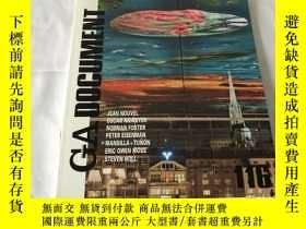 二手書博民逛書店GA罕見Document 116 (英、日、雙語)Y8204 世界建築 世界建築