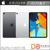 Apple iPad Pro 11吋 Wi-Fi 1TB 平板電腦(6期0利率)-附抗刮保護貼+背蓋