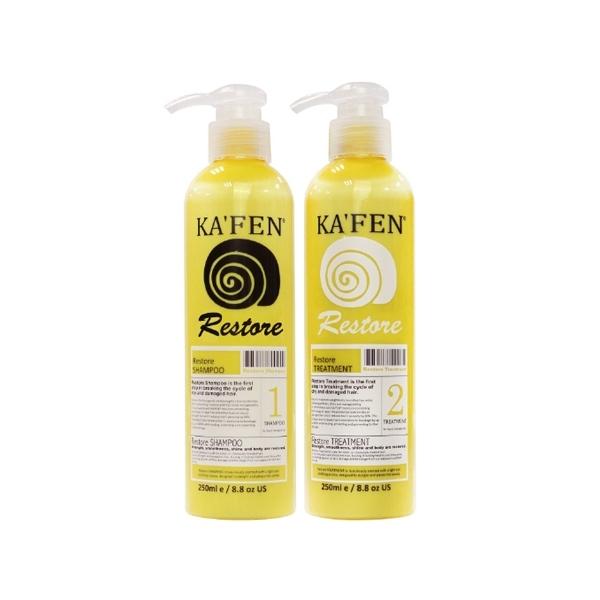 KAFEN 還原酸蛋白系列 蝸牛極致洗髮精/護髮素(250ml) 2款可選【小三美日】