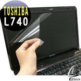 EZstick靜電式筆電LCD液晶螢幕貼 - TOSHIBA Satellite L740  專用螢幕貼(可客製化尺寸)