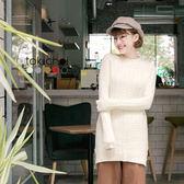 東京著衣-多色花紋感長版針織上衣(172923)