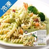 金品薩丁尼亞翡翠蝦仁螺絲麵280g【愛買冷凍】