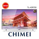 CHIMEI 奇美 43R700 R7系列 43吋 4K HDR Android 10 液晶顯示器 公司貨 TL-43R700