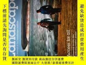二手書博民逛書店Landscape罕見the journal of the Landscape Institute 2014 春景