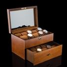 手錶收藏盒實木木質 20錶位高檔手錶盒首...