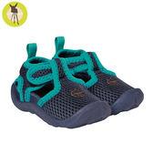 德國Lassig-嬰幼兒透氣快乾輕量沙灘涼鞋-海藍