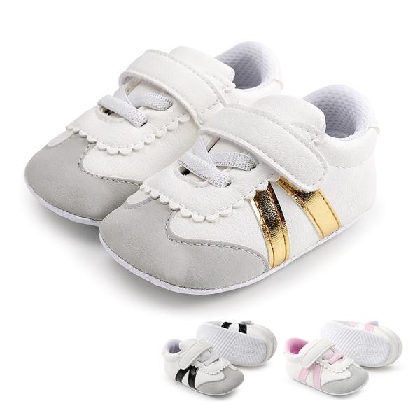 雙條黏貼運動鞋嬰兒鞋